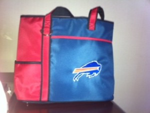 Buffalo Bills tote